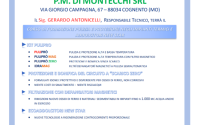 """Presentazioni prodotti """"Foridra"""" e corso di formazione"""
